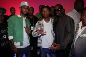 Swizz Beatz - Pharrell Williams - Sean P Diddy Combs