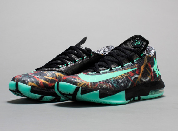 Nola Gumbo League Collection KD 6 Nike 'Illusion'