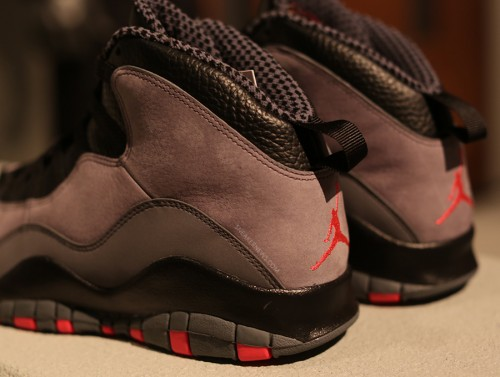 Air Jordan Grey/Infrared 10 Now Available