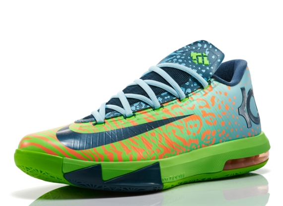 nike kd 6 �liger� just kickin it